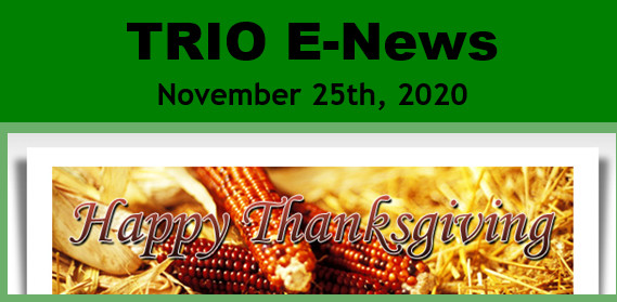 TRIO Enews Nov 25 2020