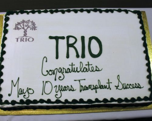 Mayo's Liver Transplant Program's 10th  Anniversary