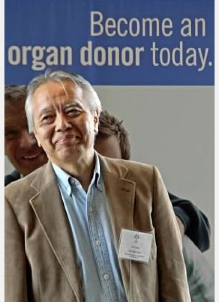 Yushi Nomura, TRIO Japan chapter president & two-time liver recipient